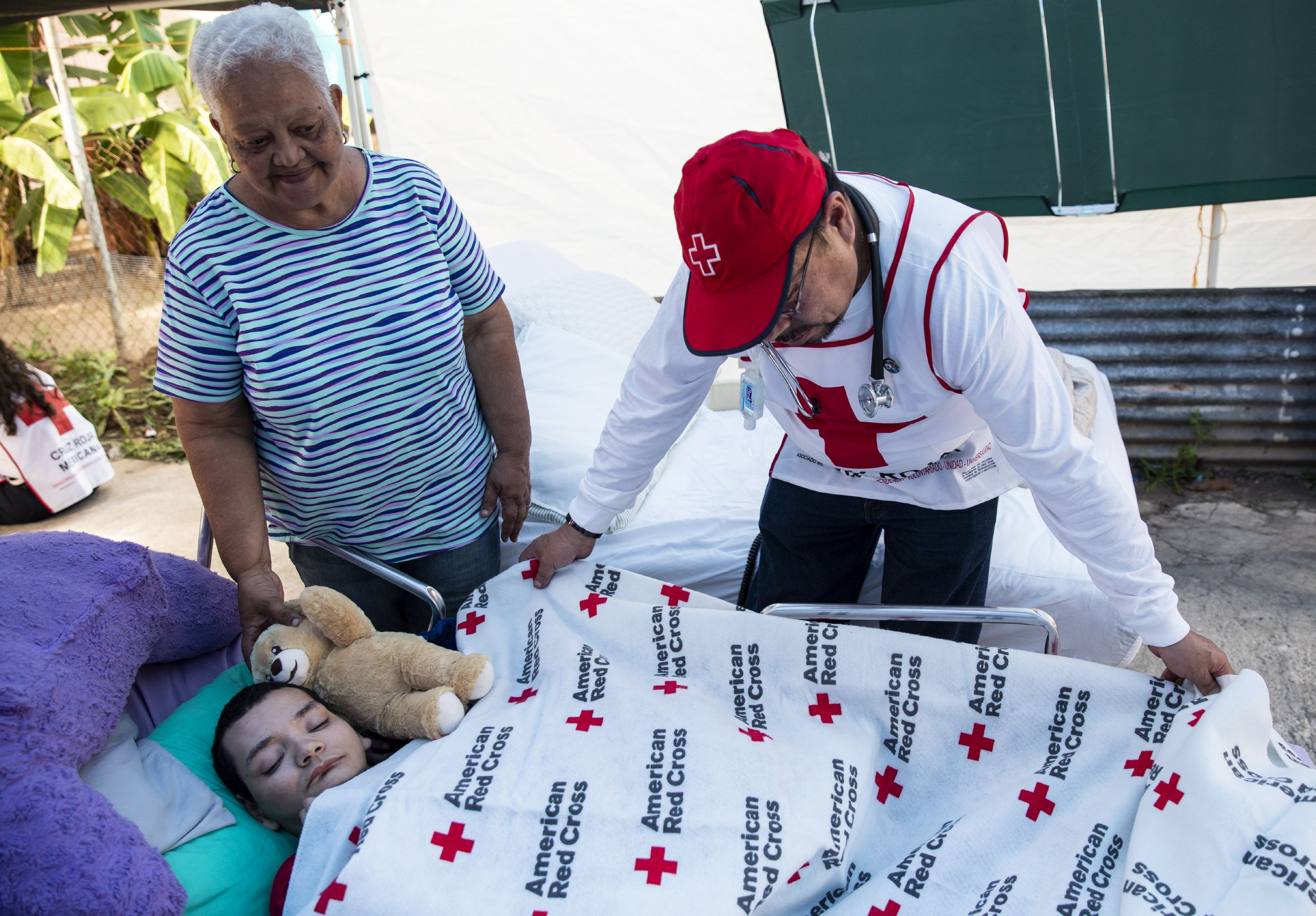 American Red Cross disaster relief in Puerto Rico
